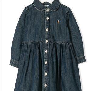 Ralph Lauren Jean dress, 12 months